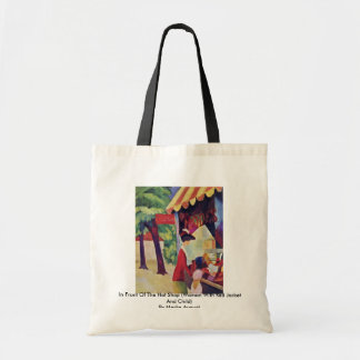 In Front Of The Hat Shop By Macke August Bags