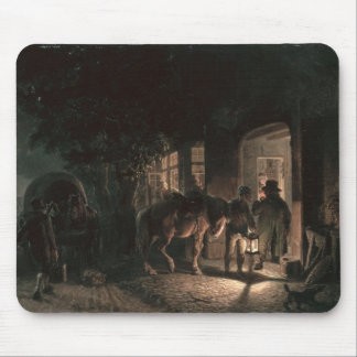In front of the Pub, 1843 Mouse Mat