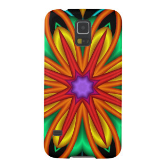 In full Bloom, Artistic Fantasy Flower Galaxy S5 Cover