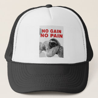 in gain in pain trucker hat