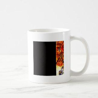 In girum imus nocte et consumimur igni coffee mug