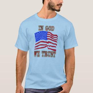 In God We Trust American Flag Shirt