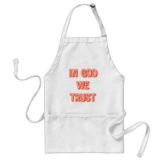 In God We Trust Apron
