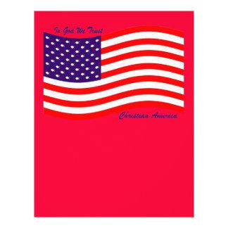 In God We Trust ~ Christian America Flyers