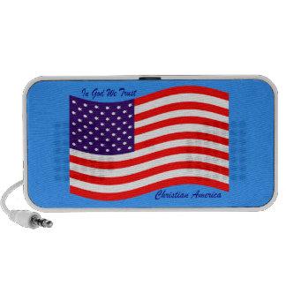 In God We Trust ~ Christian America iPhone Speakers