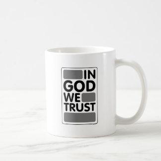 In God We Trust Classic White Coffee Mug