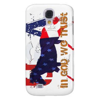 In God We Trust-Patriotic Horse Galaxy S4 Case