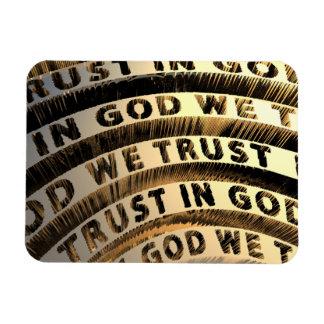 In God We Trust Rectangular Magnets
