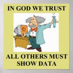 in god we trust science joke