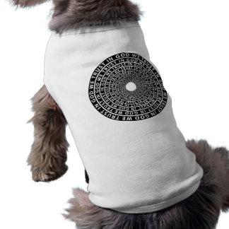 In God We Trust Sleeveless Dog Shirt