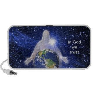 In God We Trust iPhone Speakers