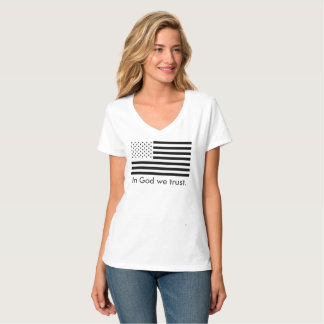 In God we trust. usa t-shirt