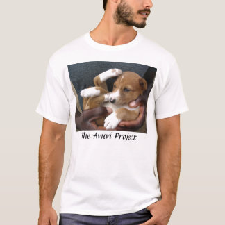 In Good Hands_Benin puppy T-Shirt