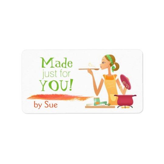 In Good Taste (Custom Food/Baking Labels) Label