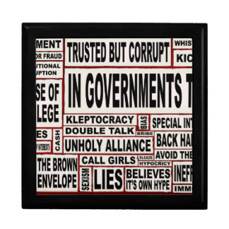 In Government Today Large Square Gift Box