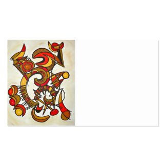 In Harmony And Out Of Tune - Abstract Art Pack Of Standard Business Cards