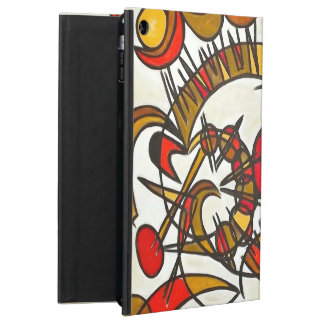 In Harmony And Out Of Tune-Abstract Geometric iPad Air Cover
