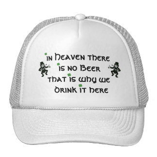 in heaven there is no beer cap
