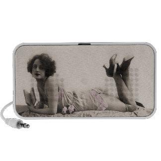 In Her Lingerie Portable Speakers