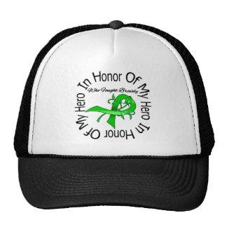 In Honor of My Hero Traumatic Brain Injury Mesh Hat