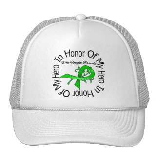 In Honor of My Hero Traumatic Brain Injury Hat