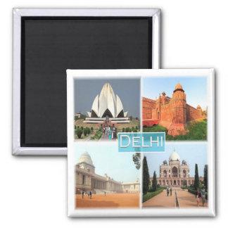 IN * India - Delhi Magnet