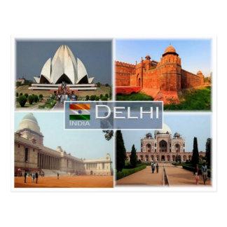 IN India - Delhi - Postcard