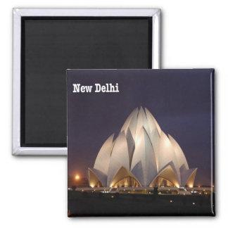 IN - India - Jaipur - Hawa Mahal Square Magnet