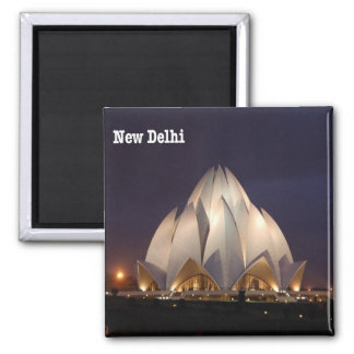 IN - India - New Delhi - Lotus Temple Magnet