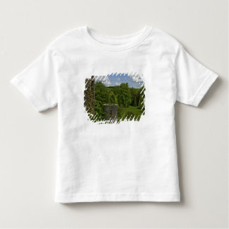 In Ireland, at Blarney Castle a stone tower in Toddler T-Shirt