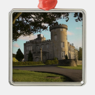 In Ireland, the Dromoland Castle side entrance Christmas Ornament