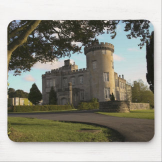 In Ireland, the Dromoland Castle side entrance Mouse Mat