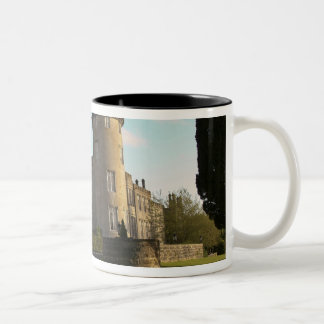 In Ireland, the Dromoland Castle side entrance Two-Tone Coffee Mug