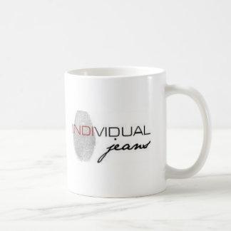 in jeans coffee mug