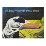 In Jesus Name We Pray, Amen! Postcards