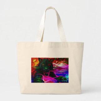 in kitty dreams.jpg jumbo tote bag