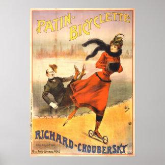 In-Line Skates 1890 Poster