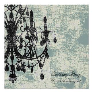 In Love Chandelier ~ Invitations