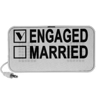 in love, engaged, married Women's T-Shirts.png PC Speakers