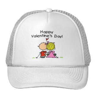 In Love Happy Valentine's Day Trucker Hats