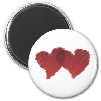 In Love Heart Fridge Magnet