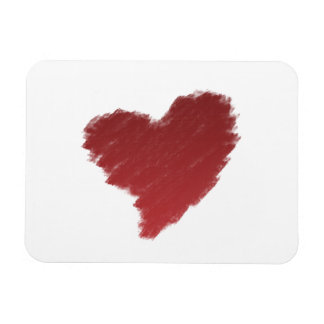 In Love Heart (Valentines day) Rectangular Magnet