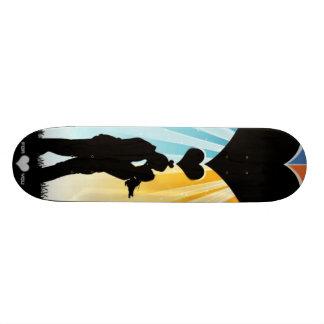In love under a heart - skate board decks
