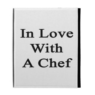 In Love With A Chef iPad Cases