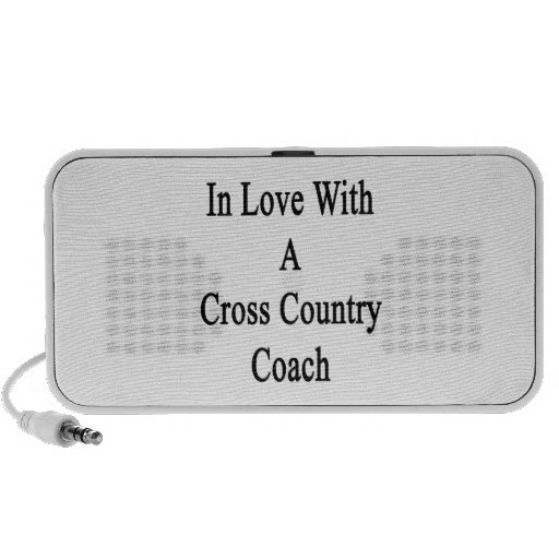 In Love With A Cross Country Coach Notebook Speaker