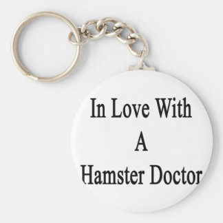 In Love With A Hamster Doctor Key Chain