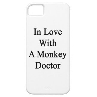 In Love With A Monkey Doctor iPhone 5 Covers