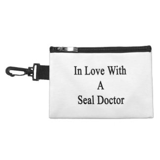 In Love With A Seal Doctor Accessories Bags