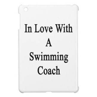 In Love With A Swimming Coach iPad Mini Cases