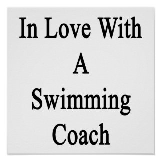 In Love With A Swimming Coach Poster